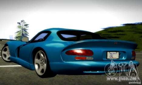 Dodge Viper pour GTA San Andreas vue de droite