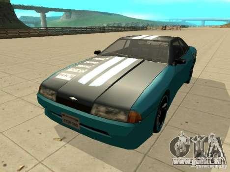 Elegy Forsage pour GTA San Andreas laissé vue