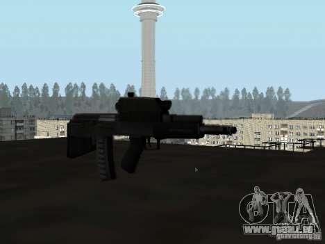 OTS-101 Adder pour GTA San Andreas troisième écran