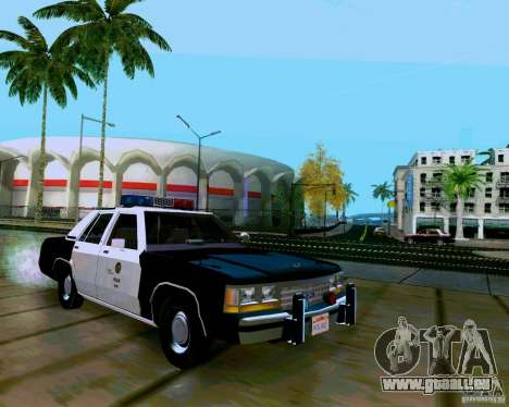 Ford Crown Victoria LTD LAPD 1991 für GTA San Andreas rechten Ansicht