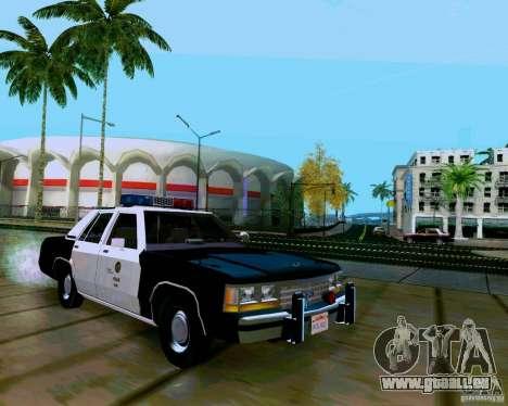 Ford Crown Victoria LTD LAPD 1991 pour GTA San Andreas vue de droite