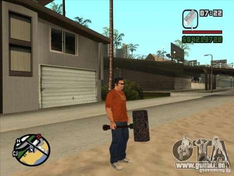 Hammer aus der WarCraft III für GTA San Andreas zweiten Screenshot