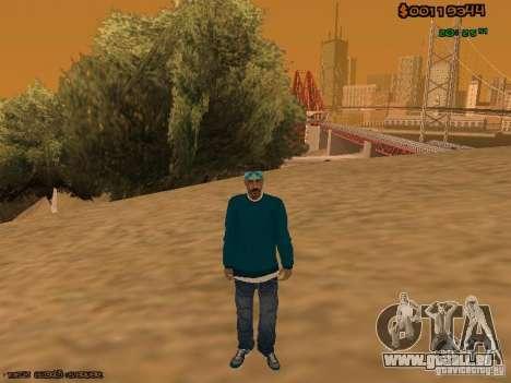 Varios Los Aztecas pour GTA San Andreas deuxième écran