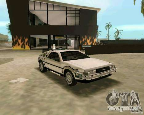 BTTF DeLorean DMC 12 pour GTA Vice City