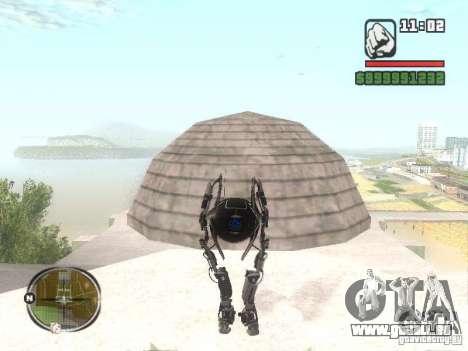Robot de Portal 2 # 2 pour GTA San Andreas