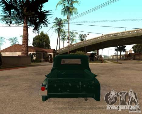 ZIL 130 Fiery Tempe v1. 0 für GTA San Andreas linke Ansicht