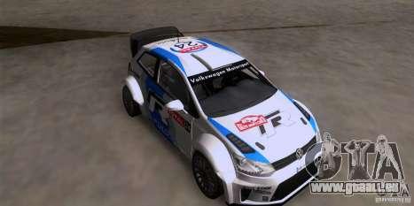 Volkswagen Polo WRC pour GTA San Andreas