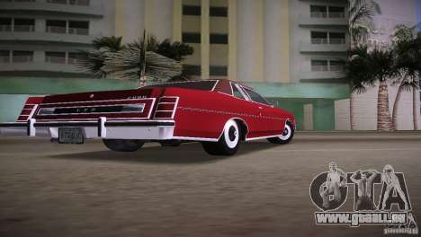 Ford LTD Brougham Coupe für GTA Vice City linke Ansicht