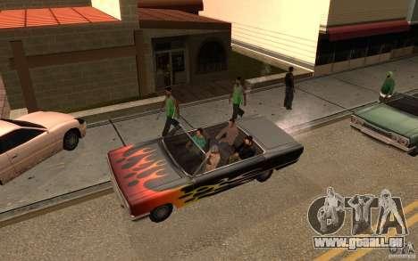 Brigade VERSION 2.0 pour GTA San Andreas deuxième écran
