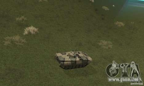 BMP-1 Camo für GTA San Andreas Rückansicht