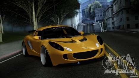 Lotus Exige Track Car pour GTA San Andreas vue de côté