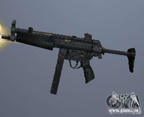 Eine Reihe von Waffen aus einem stalker für GTA San Andreas fünften Screenshot