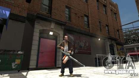 Lance-flammes pour GTA 4 troisième écran
