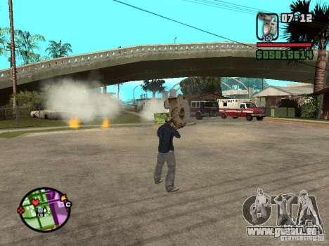 Cuvette de toilette pour GTA San Andreas troisième écran