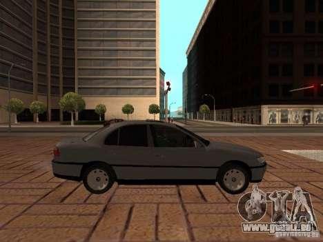 Opel Omega B 1998 v2 pour GTA San Andreas laissé vue