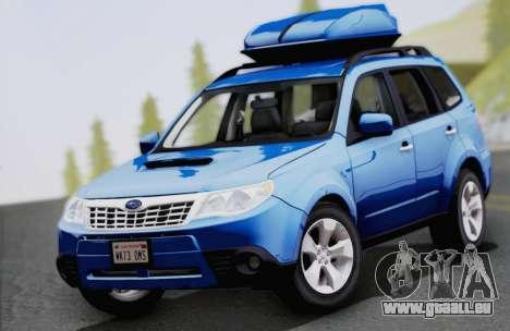 Subaru Forester XT 2008 pour GTA San Andreas vue intérieure