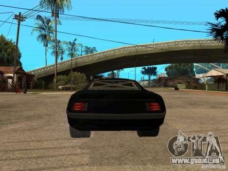 Plymouth Hemi Cuda Rogue Speed für GTA San Andreas zurück linke Ansicht