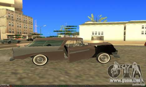 Chevrolet Bel Air Nomad 1956 pour GTA San Andreas salon