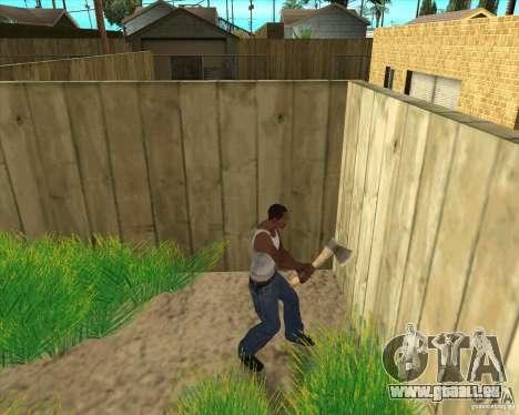 Armes de call of duty pour GTA San Andreas sixième écran