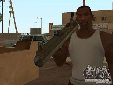 LAW Rocket launcher für GTA San Andreas