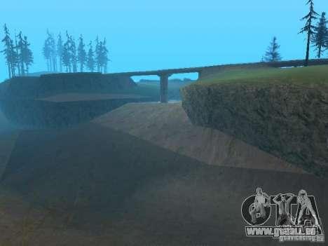Il n'y a pas d'eau pour GTA San Andreas quatrième écran