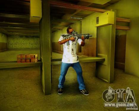 Tavor Tar-21 Digital für GTA San Andreas sechsten Screenshot