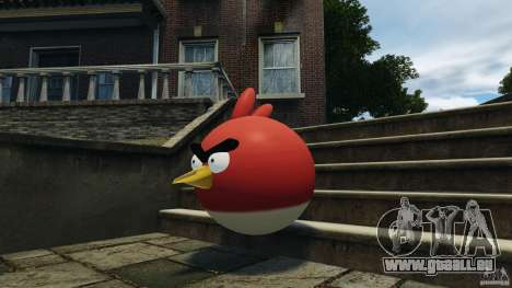 Angry Bird Ped pour GTA 4 troisième écran