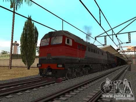 Eisenbahn-mod IV-Finale für GTA San Andreas zweiten Screenshot