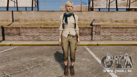 Sherry Birkin pour GTA 4