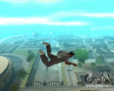 Parachute Rockstar (camouflage) pour GTA San Andreas troisième écran