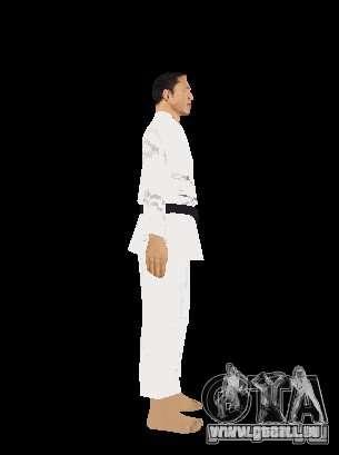 Reteksturirovannye karate für GTA San Andreas fünften Screenshot
