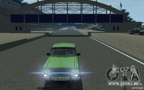Moskvich 412 für GTA 4 Rückansicht