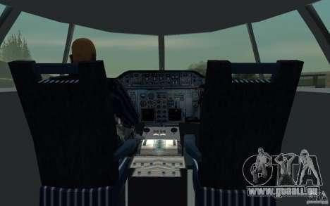 Airbus A310 S7 Airlines für GTA San Andreas Seitenansicht