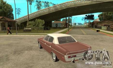 AMC Matador 1971 pour GTA San Andreas sur la vue arrière gauche