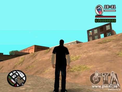 Slaude FXstyle pour GTA San Andreas deuxième écran