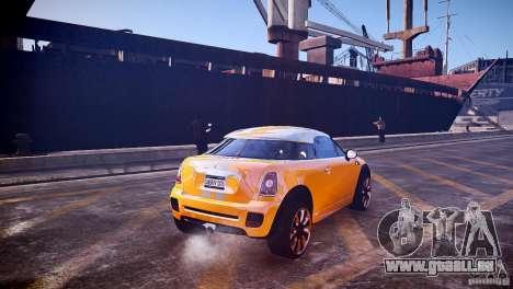 Mini Coupe Concept v0.5 pour GTA 4 est un droit