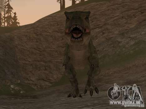 Dinosaurs Attack mod für GTA San Andreas her Screenshot