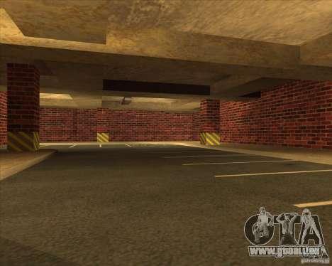 Nouvelle police garage LSPD pour GTA San Andreas troisième écran