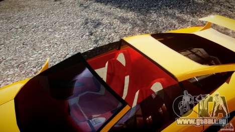 Lamborghini Cala pour GTA 4 est une vue de l'intérieur