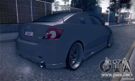 Scion Tc Street Tuning pour GTA San Andreas vue de droite