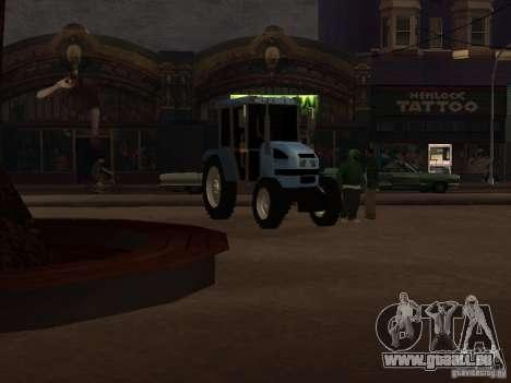 Traktor МТЗ 922 für GTA San Andreas linke Ansicht