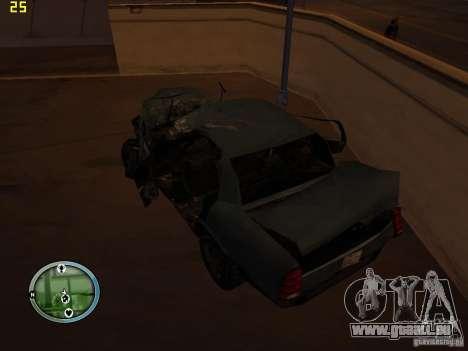 Voitures accidentées sur Grove Street pour GTA San Andreas huitième écran