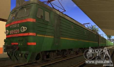 Mod de chemin de fer pour GTA San Andreas cinquième écran