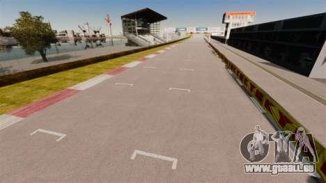 Tsukuba Circuit v3.0 pour GTA 4 secondes d'écran
