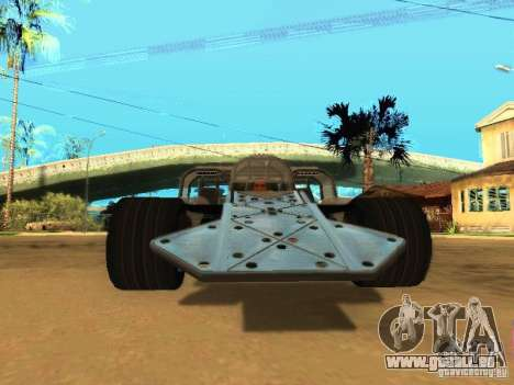 Fast & Furious 6 Flipper Car für GTA San Andreas linke Ansicht