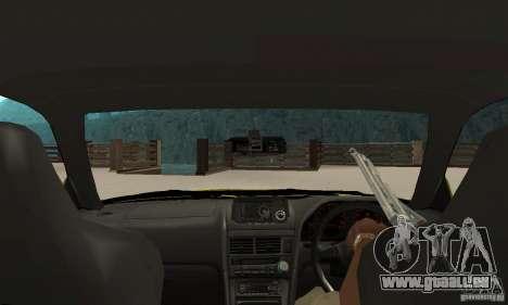 Nissan Skyline R34 GTR pour GTA San Andreas vue de droite