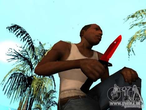 Red Chrome Weapon Pack für GTA San Andreas elften Screenshot