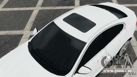 Jaguar XFR 2010 v2.0 pour GTA 4 est une gauche