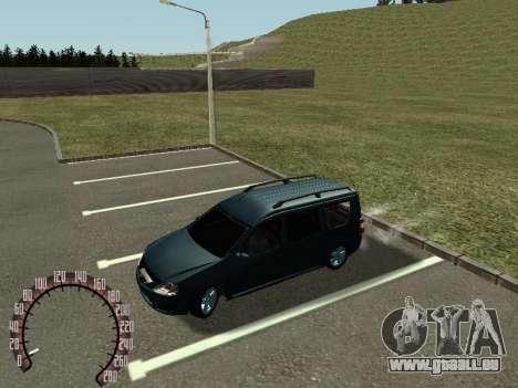 Lada Largus für GTA San Andreas linke Ansicht
