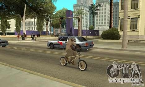 Nouveau BMX pour GTA San Andreas vue de droite